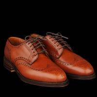 UNIONMADE - Alden - Wing Tip Blucher in Burnished Tan 966