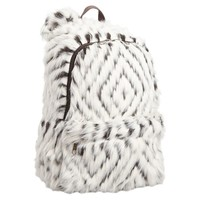 Faux Fur Kite Kilim Backpack