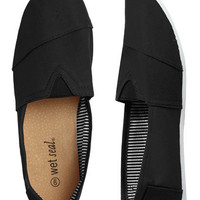 Zoey Canvas Shoe | Shop Shoes at Wet Seal