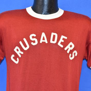 50s Crusaders Red And White Jersey Medium