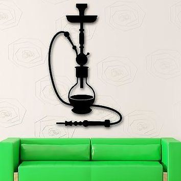 Wall Stickers Vinyl Decal Hookah Arabic Culture Relax Decor Unique Gift (ig2083)