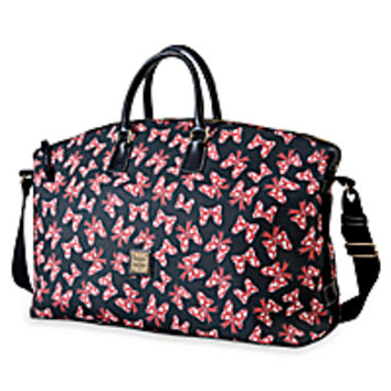 Minnie Mouse Bow Weekender Bag by Dooney & Bourke - Black