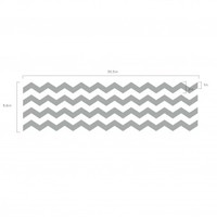 SMALL Chevron Pattern - Vinyl Wall Art Decal for Homes, Offices, Kids Rooms, Nurseries, Schools, High Schools, Colleges, Universities, Events