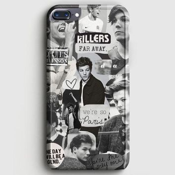 Louis Tomlinson Collage iPhone 8 Plus Case | casescraft