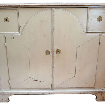 19th-C.   Swedish Painted Buffet