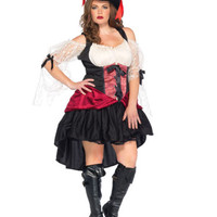 Plus Size Wicked Wench Adult Halloween Costume - Leg Avenue 85157X