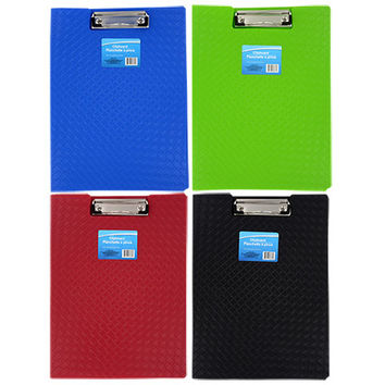 Bulk Colorful Plastic Folder Clipboards at DollarTree.com