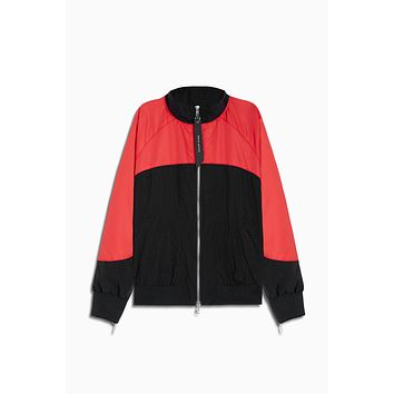 bomber 7 / black + red
