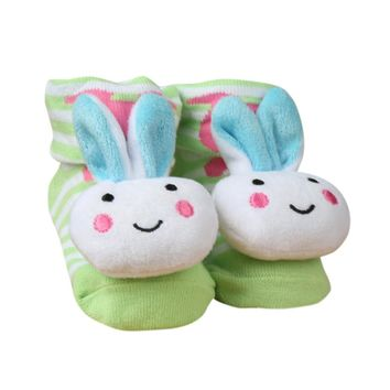 Infant Baby Socks with Bunnies