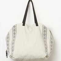Free People Womens Loveland Tote - Bone One