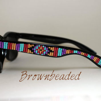 Beaded Sunglasses  native american beaded sunglasses on wanelo