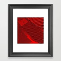 Hypnotzd Abstract 82 Framed Art Print by paulosilveira