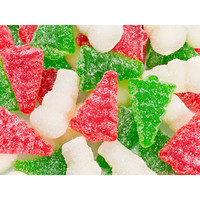 Sour Gummy Christmas Trees & Snowmen: 4.5LB Bag