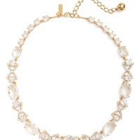 kate spade new york crystal collar necklace | Nordstrom