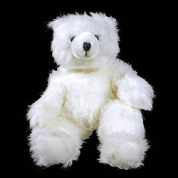 Stuffed Animal, Polar Bear, Milky Way,  Applause Inc