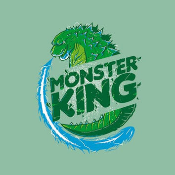Monster King Adult Tee Shirt