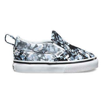 Toddlers Reverse Floral Slip-On V | Shop Toddler Shoes at Vans