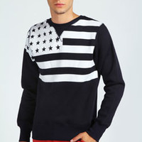 American Stripes and Stars Sweater