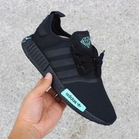 Diamonds x Adidas NMD Fashion Casual Running Black Shoes Sneaker G