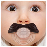 Ladies Man Mustache Pacifier