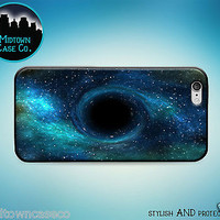 Black Hole Universe Galaxy Space Rubber Case for iPhone 7 6s 6 Plus 5s 5 5c SE