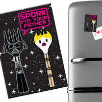 SPORK I'M YOUR FATHER MAGNET