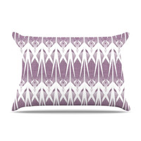 "Alison Coxon ""Arrow Lavender"" Pillow Case"