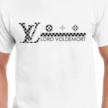 Gray Louis Vuitton Funny Lord Voldemort Parody T-Shirt Harry Potter T-Shirt
