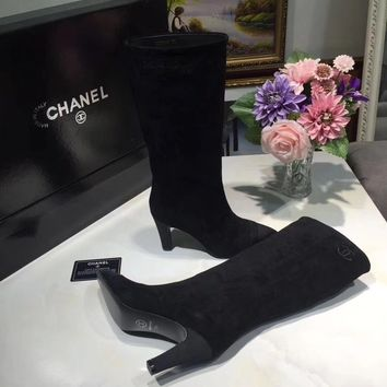 shosouvenir : CHANEL : Naked boots, short boots, women's pointed boots, Martin boots, women's Boots