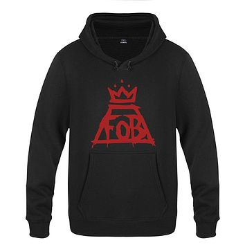 "FALL OUT BOY ""FOB"" Men's Hoodie Punk rock band Cotton sweatshirt Pullover Hoody"