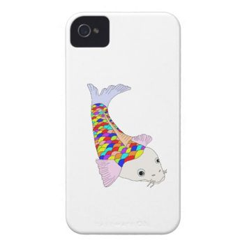 Colorful fish iPhone 4 cover