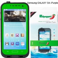 For Samsung Galaxy S4 Waterproof Superproof Dirtproof Snowproof Shockproof Case for Samsung Galaxy S4(Green)