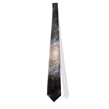 Spiral galaxy NASA Neck Ties