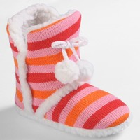 Journee Collection Mimi Slipper Boots - Girls (Pink)