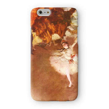 Ballerina Girl 1 by Edgar Degas Full Wrap 3D Printed Case  for Apple iPhone 6 by Painting Masterpieces