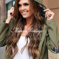 Stay By Me Jacket Olive