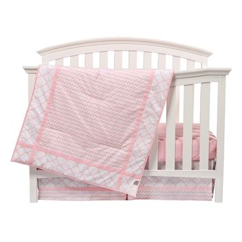 Trend Lab Pink Sky Baby Nursery Crib Bedding Choose From 3 4 5 6 7 Piece Set