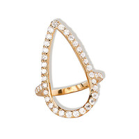 Fatale Diamond Crush Ring