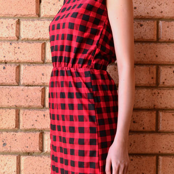 HAPPINESS FLANNEL DRESS