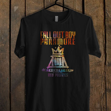 Fall Out Boy Paramore Monumentour new T Shirt Mens T Shirt and Womens T Shirt *