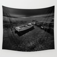 On the wrong side of the lake 7 Wall Tapestry by HappyMelvin