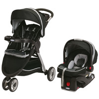 Graco FastAction Fold Sport Click Connect Travel System - Gotham