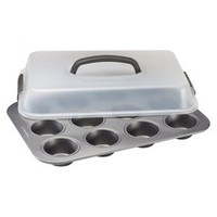 Kitchen Essentials® from Calphalon® 12 Cup Cupcake Carrier and Pan