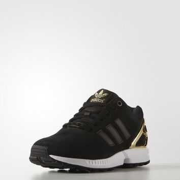 adidas zx flux shoes black and white cartoon characters