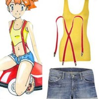Pokemon Cosplay Misty Sexy Cosplay Costume [POC003] - US$59.99