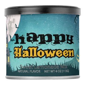 Spooky Haunted House Costume Night Sky Halloween Lemonade Drink Mix