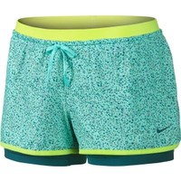 Nike Women's Full Flex 2-in-1 Splatter Spot Printed Shorts | DICK'S Sporting Goods