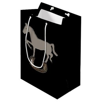 Zorba Horseshoe Medium Gift Bag