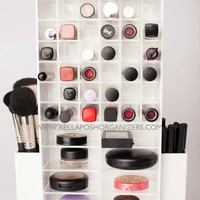 Spinning Makeup Tower (WHITE) / BELLAPOSH ORGANIZERS