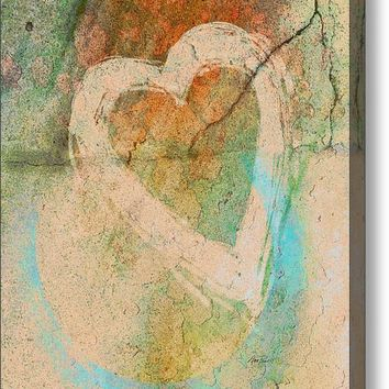 Graffiti Heart - Photography Acrylic Print